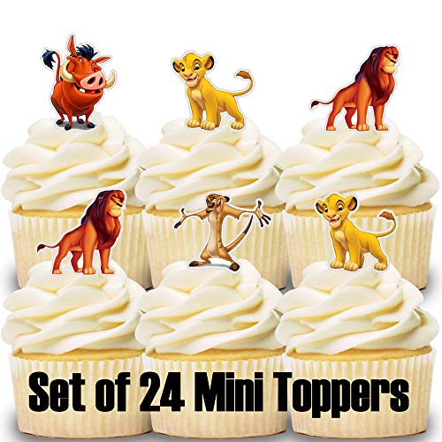 Lion King Cupcake Toppers (Set of 24)