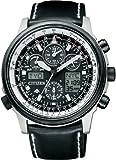 [シチズン]CITIZEN 腕時計 PROMASTER プロマスター エコ・ドライブ 電波時計 スカイシリーズ ジェットセッター クロノグラフ PMV65-2272 メンズ