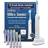 Best4 Cepillo de dientes eléctrico Sonic ÚLTIMO MODELO, potente...