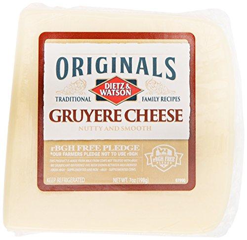 Dietz & Watson Originals German Gruyere Cheese Block, 7 oz