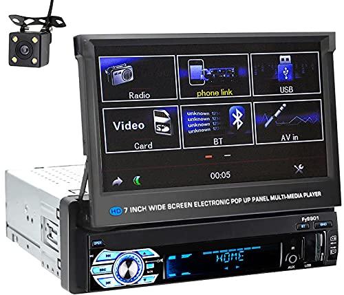 QQ HAO Radio De 7 Pulgadas Radio Estéreo GPS Navegación Video Bluetooth Manos Libres MP5 Player All-In-One