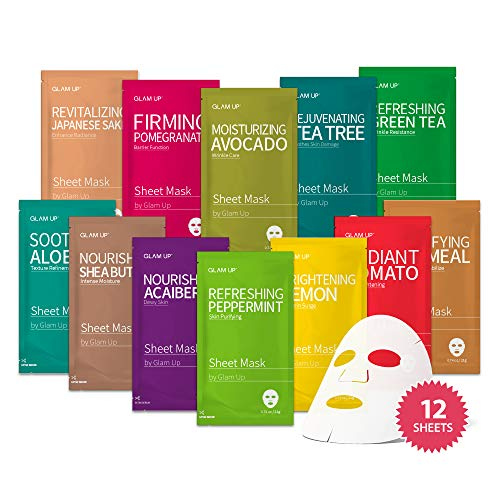 Product Image of the Sheet mask by Glam Up Facial Sheet Mask BTS 12Combo-The Ultimate Supreme...