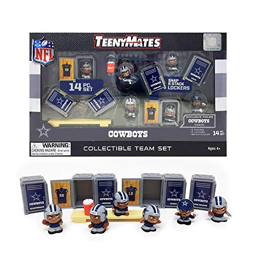 Cowboys Teenymates Collectible Team Set Party Animal Locker & Figure