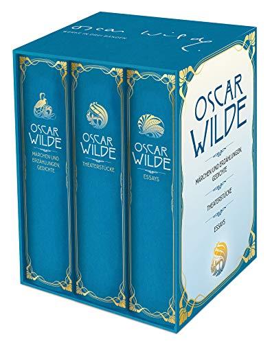 Oscar Wilde: Werke in drei Bänden im Schuber: Märchen, Erzählungen, Gedichte, Theaterstücke, Essays