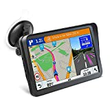 Car GPS Navigation, 9-inch HD Display with Sun Visor GPS Navigation 8GB 256MB Satellite Navigation, Voice Navigation Lane, Free map Update for Life…