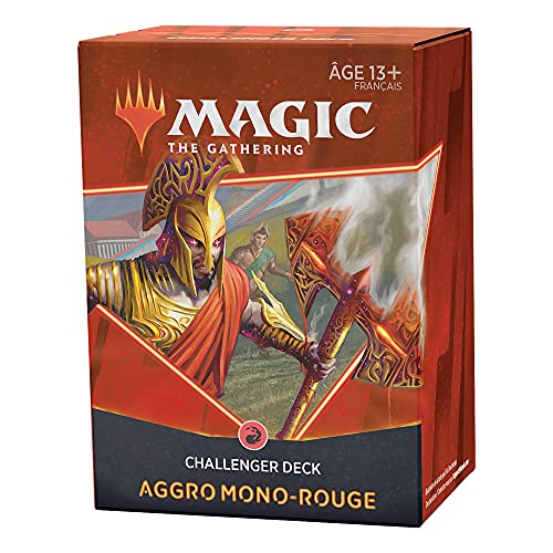 Magic: The Gathering- Challenger Deck édition 2021 Aggro Mono-Rouge