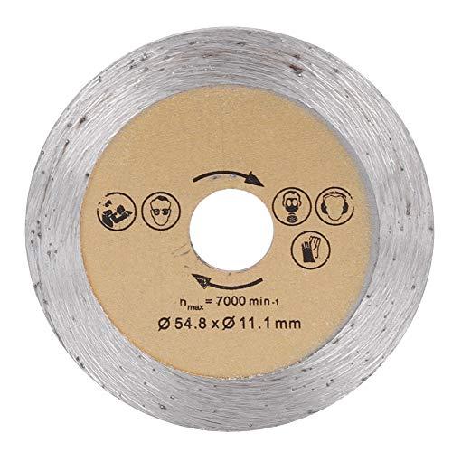 Hoja de sierra de corte, hoja de sierra circular de acero de alta velocidad, hoja de corte de sierra de madera para máquina de corte de 2,2 pulgadas(Hoja de sierra de mármol)