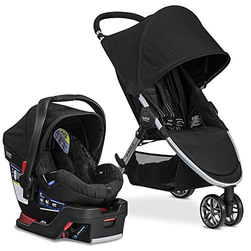 Britax 2017 B-Agile Travel System with B-Safe 35 Infant Car Seat