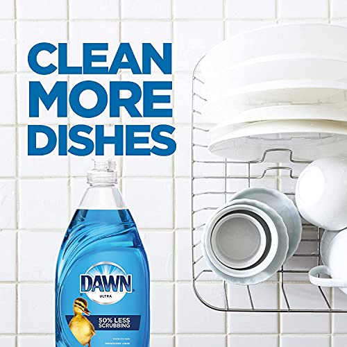 Product Image 3: Dawn Ultra Dishwashing Liquid Dish Soap (4x19oz) + Non-Scratch Sponge (2ct), Original Scent (Packaging May Vary), Combo pack