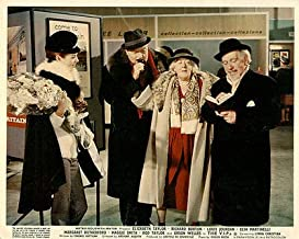 The V.I.P.S. Original British Lobby Card Orson Welles Margaret Rutherford