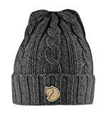 Fjallraven Braided Knit Hat Gorra, Unisex Adulto, Dark Grey, Talla nica