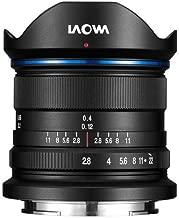 Venus Laowa Full Frame Camera Prime Lens 9mm f/2.8 Zero-D Sony E, Black
