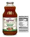 Lakewood Organic Super Veggie Low Sodium Juice, 32 Ounce (Pack of 6)
