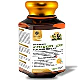MOUNTAINOR Advanced Vitamin D3 For Healthy Life 5000 IU(90 Veg caps). Helps In