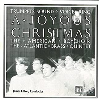 Trumpets Sound Voices Ring A Joyous Christmas