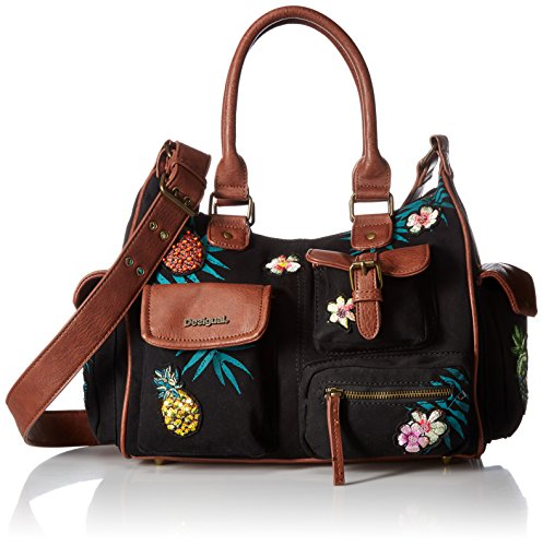 Desigual BOLS PINDAY LONDON MEDIUM negro Schultertasche