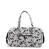 Vera Bradley Women's Signature Cotton Large Travel Duffel Bag, Bedford Blooms, One Size