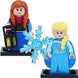 LEGO 71024 Disney Série 2 Mini-Figurines Elsa et Anna comme sur la Photo.
