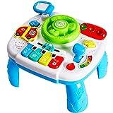 HERSITY Mesa Musical Juguete Volante Juguete Panel Juegos Juguetes de Actividades para Bebe