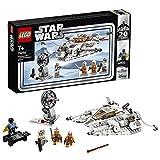LEGO- Friends Snowspeeder, Edizione ° versario, Collezione con Luke Skywalker, Dak Ralter, Rebel Trooper e Lando Calrissian, Pistola Blaster e Spada Laser, Set di Costruzione, Multicolore, 6251806