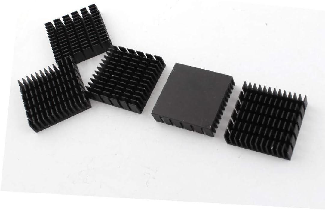 X-DREE 5PCS Spare Parts Max 80% OFF 40mm Max 79% OFF Aluminum 11mm Black x Chipse