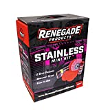 Renegade Products Stainless Polishing Mini Kit Complete with Buffing Wheels, Buffing Compounds, Microfibers & Rebel Red Liquid Hand Polish