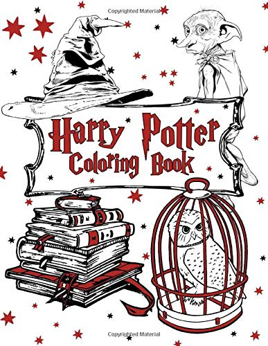 Harry Potter Coloring Book