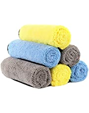 洗車タオル 吸水 マイクロファイバークロス HOTOR 洗車職人のこだわり 洗車 家事用 掃除 ふき取り 厚い繊維 速乾 3種類セット