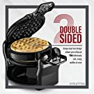 Gourmia GWM490 Belgian Waffle Maker - Double Waffles - Extra Deep - Fast & Easy - 180 Degree Flipping - Brushed Stainless Steel - Nonstick Plates - Black - Free Recipe Book #2