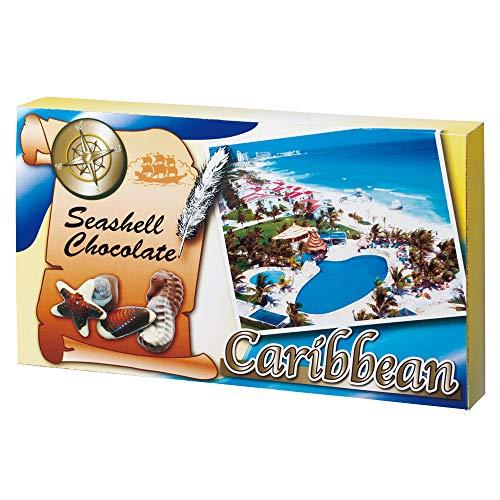 [賞味8/16] メキシコ・カリブお土産 カリビアン シーシェル チョコレート 10粒入り 1箱