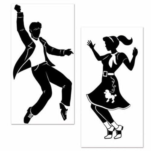 50 s sock hop amazon Pink Ladies Satin Jacket large 50 s sock hop rock n roll elvis dancers grease party decoration