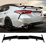 N / A Fit for 2018-2020 Toyota 8th Gen Camry LE SE XLE XSE Rear Trunk Spoiler Gloss Black