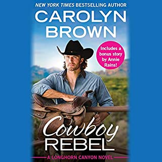 Cowboy Rebel audiobook cover art