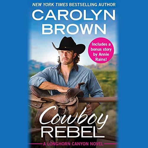 Cowboy Rebel audiobook cover art