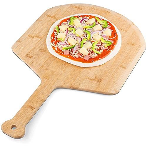 Placa de Pizza Rebanada Placas de Fiesta de Pizza en casa para Corte Pandera Pan de Queso Frutas Verduras Hengdeqiangk