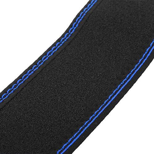 SALUTUY Rodilleras Buena Elasticidad Rodilleras Protector, para Ciclismo(One Size Blue Edge)