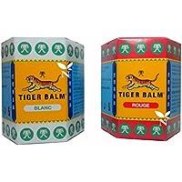 Bálsamo De Tigre * Authentico * Bálsamo De Tigre Blanco 30g + Bálsamo De Tigre Rojo 30g | Tiger Balm