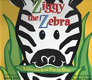 Ziggy the Zebra: A One-of-a-kind Pop-up Book
