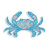 Ocean Wave Pattern Crab Sticker Laptop Cooler...