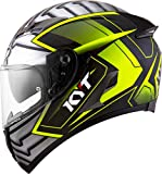 Casco integrale moto KYT Falcon 2 Armored yellow S helmet casque