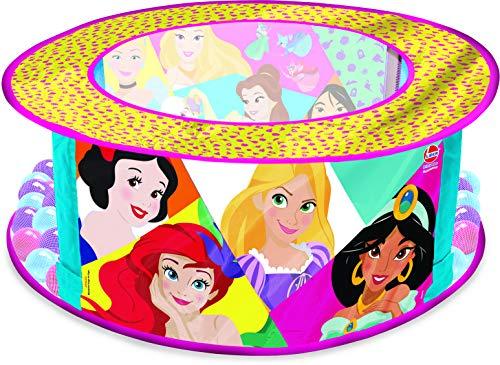 Piscina de Bolinhas Princesas Lider Brinquedos Lilás/Rosa