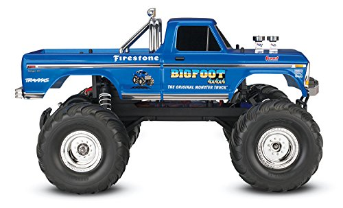 RC Auto kaufen Monstertruck Bild 2: Traxxas Bigfoot No.1 Brushed 1:10 RC Modellauto Elektro Monstertruck Heckantrieb RtR 2,4 GHz*