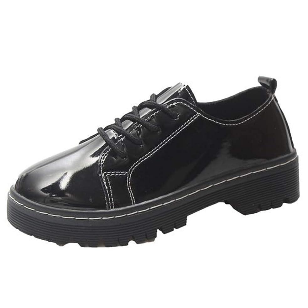 命令的ジーンズ写真[RIW0ILND] ローファー 革靴 レディース レザー オックスフォード シューズ エナメル ワークブーツ パンプス ウォーキングシューズ 通勤 モカシン 軽量 疲れにくい 長時間立ち仕事 大きいサイズ 履きやすい