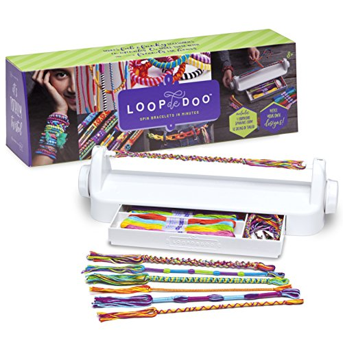 Loopdedoo – DIY Friendship Bracelet Maker Kit – Make Bracelets In Minutes – Award-Winning Craft Kit
