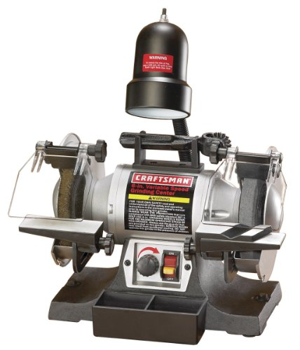 Craftsman 6-Inch Variable Speed Grinding Center