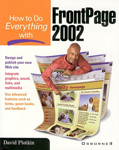 How to Do Everything with FrontPage 2002 (English Edition)