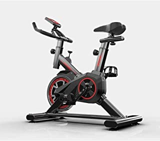 FQCD Home Indoor Spinning Bike, Exercise Bike, Convenient Indoor Sports Equipment,Red, Home fitness equipment,Colour:Yellow