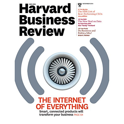 Harvard Business Review, November 2014 copertina