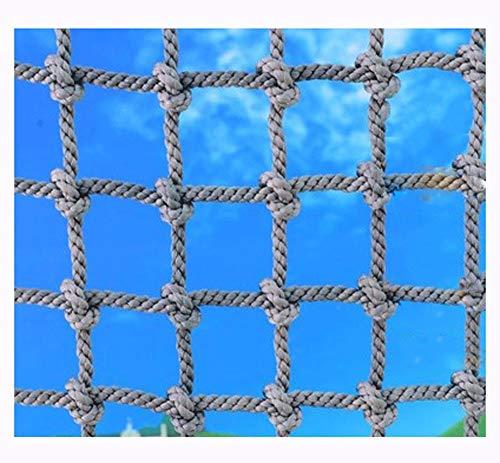 Pkw Netz,Seilnetze Seilnetz Kletternetz Strickleiter Erwachsene KlettergerüSt Indoor Kinder Outdoor Boot Rettungsleit SeilbrüCke Spielturm Sicherheitsnetz Trampolin Universal AnhäNger Balkon