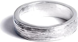 10th Anniversary Tin Ring - Mens - Inscribed with Ten Years, Free Resize